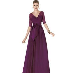 d8badb0d93 Pronovias Dresses - Pronovias Cocktail Dress Alena Navy Blue